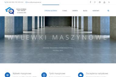 TYNKI I WYLEWKI MASZYNOWE INTER-Q s.c. Świerczek, Radecki - Posadzki Rybarzowice