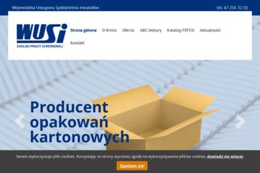Wojewódzka Usługowa Spółdzielnia Inwalidów - Opakowania Trzcianka
