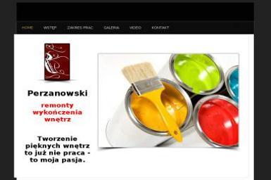 DZIAŁALNOŚĆ USŁUGOWO HANDLOWA PIOTR PERZANOWSKI - Remonty biur Olsztyn