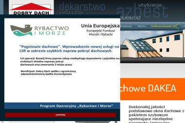 """HURTOWNIA POKRYĆ DACHOWYCH """"DOBRY DACH"""" - Pokrycia dachowe Chojnice"""