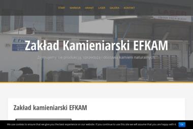 Zakład Kamieniarski EFKAM - Piasek do Piaskownicy Działdowo