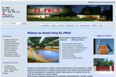 EL-PRUS Instalacje Elektryczne - Pompy Ciepła Niemce