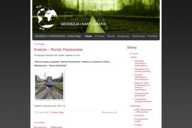 Geodezja i Kartografia - Robert Flaga - Geodeta Kraków