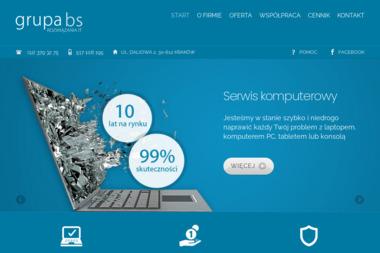 GRUPA BS - Serwis komputerów, laptopów i tabletów - Outsourcing IT Kraków