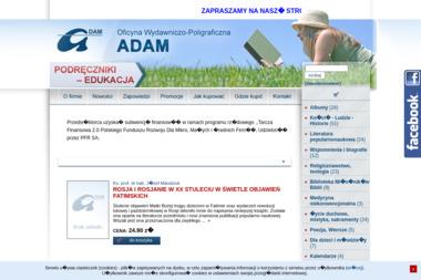 Oficyna Wydawniczo-Poligraficzna ADAM - Wydruk Etykiet Warszawa