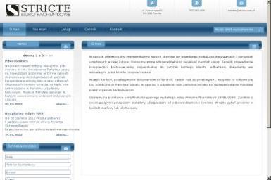 """""""STRICTE"""" Biuro Rachunkowe Marta Krawiec - Usługi finansowe Rumia"""