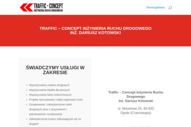 Traffic-Concept Inżynieria Ruchu Drogowego - Projektowanie inżynieryjne Czarnowąsy / Opole