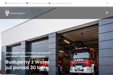 Aluminium Profilsystem - Bramy garażowe Łódź