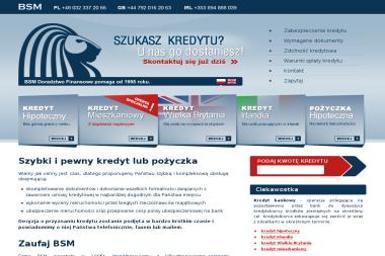 BSM Doradztwo Finansowe - Kredyt hipoteczny Gliwice