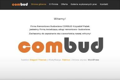 """Firma Remontowo Budowlana """"COMBUD"""" - Pompy ciepła Ruda Śląska"""