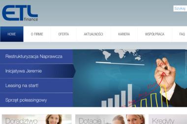 ETL Finance Sp. z o.o. - Dotacje unijne Łódź