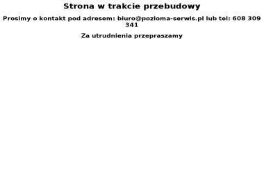 Poziomka Enterprises Sp. z o.o. - serwis Wood-Mizer - Narzędzia Piła