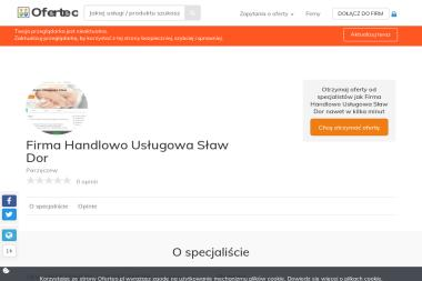 Firma Handlowo Usługowa Sław Dor - Baterie Słoneczne Parzęczew