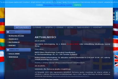 Biuro Tłumaczeń - BMTH Biuro Monitoringu Transakcji Handlowych - Tłumaczenie Angielsko Polskie Tarnów