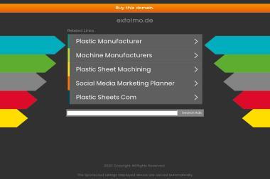 Exfolmo - Dla przemysłu tworzyw sztucznych Sochocin