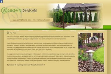 GREEN DESIGN - Projektowanie ogrodów Szczytno