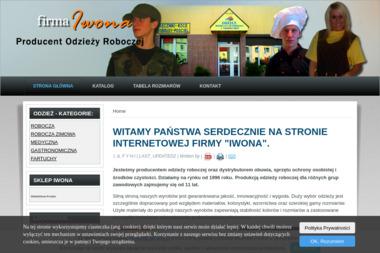 """Fima """"IWONA"""" - Garnitur na Zamówienie MIASTKO"""