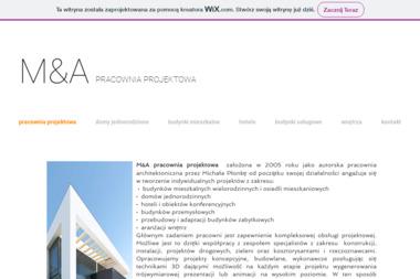 M&A PRACOWNIA PROJEKTOWA - Projekty Hal Stalowych Łódź