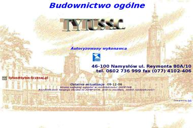 TYTUS s.c. - Remonty mieszkań Namysłów