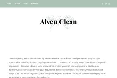 ALVEU CLEAN POLSKA - Odśnieżanie dróg i placów Wroclaw