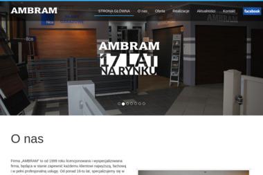 Ambram - Drzwi Garażowe Toruń
