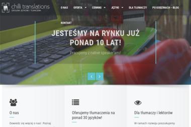 Chilli Translations Biuro Szkoleń Językowych i Tłumaczeń - Szkolenia BHP Poznań