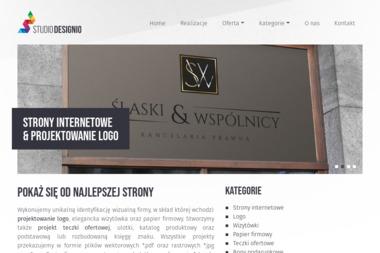 Studio Projektowe DESIGNIO - Pozycjonowanie stron Szczecin