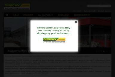 Dirickx - Bramy garażowe Kraków