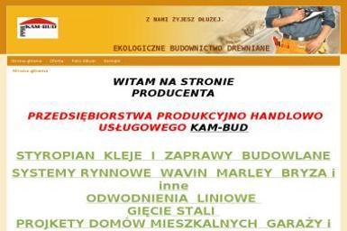 P.P.H.U KAM-BUD KAMIL OCIEPA - www.eko-drew.com - Ogrodzenia panelowe Poczesna