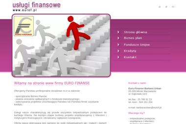 Euro Finanse - Dotacje na Rozpoczęcie Działalności Mińsk Mazowiecki