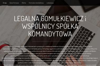 GOMUŁKIEWICZ Adwokaci i Radcy Prawni  Kancelaria Adwokacka adwokat Tomasz Gomułkiewicz Wrocław - Adwokat Wrocław