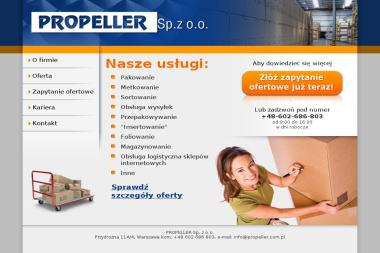 Propeller sp z o.o. - Węgiel Warszawa