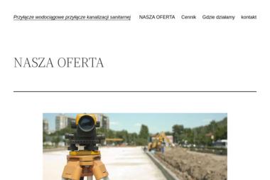 HYDROMEDIA projekty - uzgodnienia - wykonawstwo woda i kanalizacja - Okna i Drzwi Plewiska