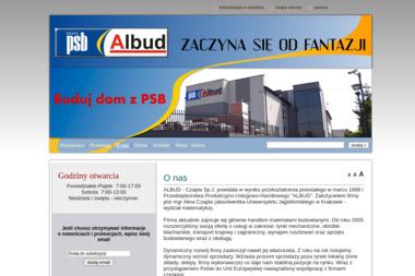 ALBUD JERZY I ALINA CZAPLA SP. J. - Bramy Ogrodowa JASTRZĘBIE ZDRÓJ