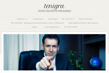 Tenigra Sp. z o.o. - Dotacje Unijne Rzgów