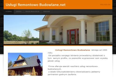 Uslugi remontowo budowlane - Remonty biur Sierpow