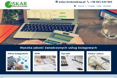 ASKAR Joanna Rogosz - Usługi podatkowe Kraków