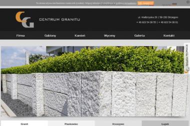 Centrum Granitu obróbka i handel granitem - Ogrodzenia panelowe Strzegom