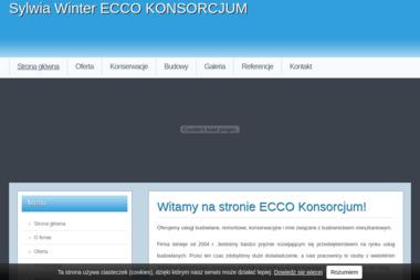"""SYLWIA NAUMOWICZ """"ECCO"""" KONSORCJUM - Firma Remontowa SZEPIETOWO"""