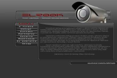 Elrook Instalacje Elektryczne i teleinformatyczne - Bezprzewodowe Systemy Alarmowe Huta Stara A