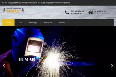 Zakład Metalowy EUMAR - Obróbka Cnc Przeźmierowo