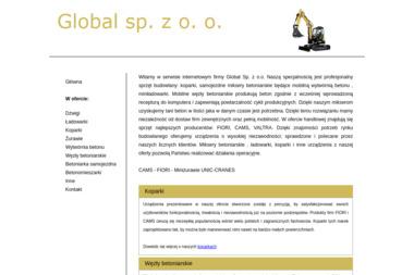 GLOBAL sp zoo - Koparko-ładowarki na Sprzedaż Głogów