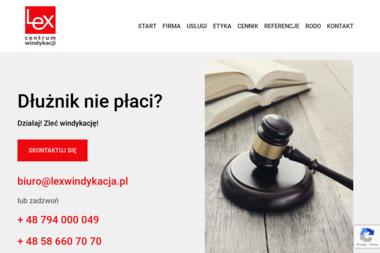 Centrum Windykacji LEX Sp. z o.o. - Windykacja Gdynia