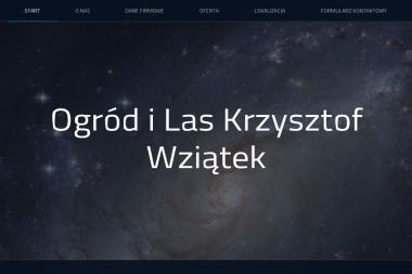 """""""Ogród i Las"""" Krzysztof Wziątek - Pellet Radom   tel  660527320"""