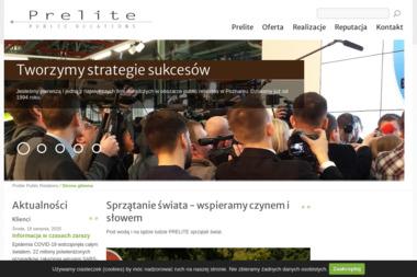 Prelite Sp z o.o. - Agencja Public Relations - Wizerunek Firmy Poznań