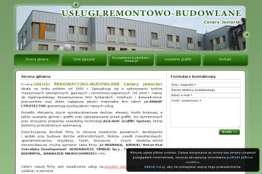 Usługi Remontowo - Budowlane Cezary Jeziorski - Budowa domów Pomiechówek