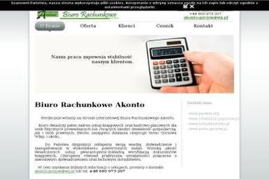 BIURO RACHUNKOWE AKONTO IZABELA SOLARCZYK-MAŃCZYŃSKA - Usługi podatkowe GORZÓW WLKP
