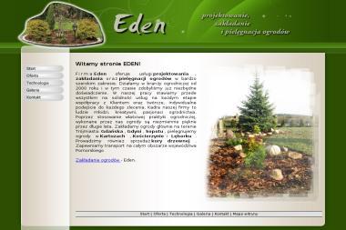 Eden zakładanie ogrodów - Ogrodnik Borowiec