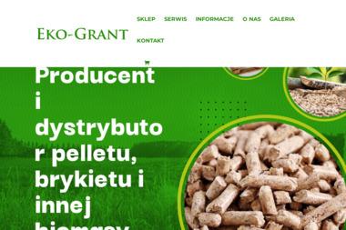 Eko-Grant - Sprzedaż Pelletu Wojkowice