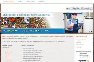 Instalcje sanitarne Ryszard Pryszcz - Instalacje grzewcze Zamość